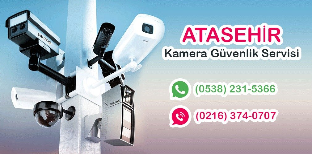 ataşehir güvenlik kamera servisi 0216 374 07 07 bina site kamera kurulumu