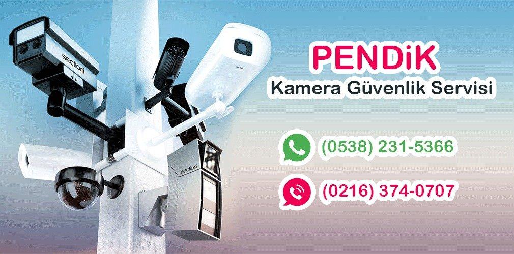 pendik güzelyalı kamera güvenlik servisi